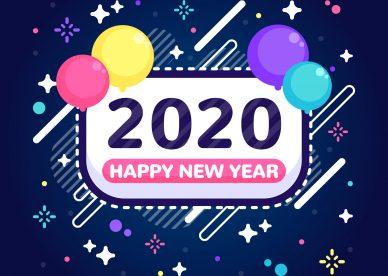رمزيات العام الجديد 2020 - رمزياتي