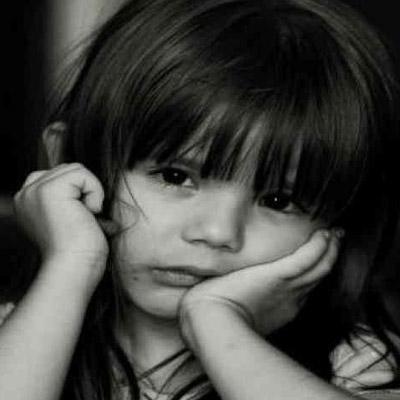 رمزيات أطفال حزينه رمادية Sad Child DP Images صور رمزيات ...