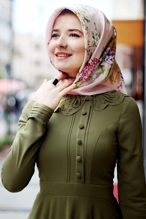 رمزيات بنات محجبات تركيات أنيقة - رمزياتي