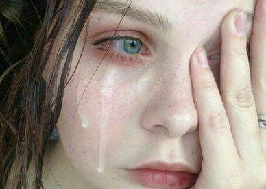 رمزيات دموع بنات - رمزياتي