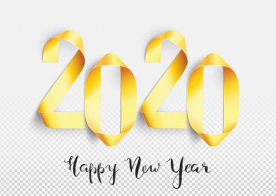 تهنئة رأس السنة الميلادية 2020 - رمزياتي