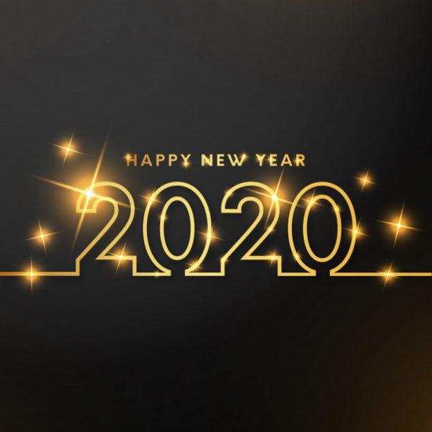 رمزيات عن السنة الجديدة 2020 - رمزياتي