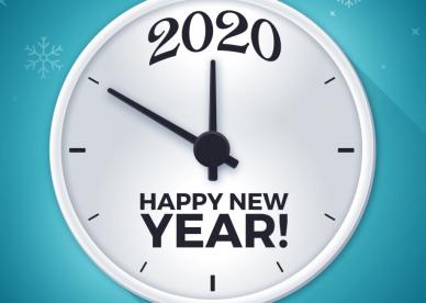 صور تهنئة العام الميلادي 2020 New Year - رمزياتي